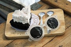 Dessert, sweet cafe. stock images