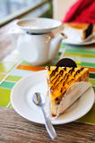 Dessert on the table Royalty Free Stock Photo