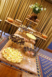 Dessert table # 2. Dessert table with different kinds of colorful desserts Stock Images