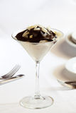 Dessert on table Stock Photography