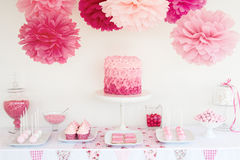 Dessert table Royalty Free Stock Photography