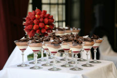 Dessert Table Stock Image