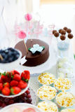 Dessert table Royalty Free Stock Image