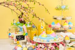 Easter brunch royalty free stock photos