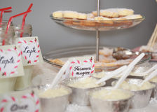 Dessert table for a party Royalty Free Stock Images