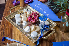 Dessert table Stock Photo