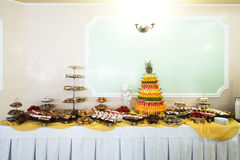 Dessert table Royalty Free Stock Photo