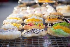 Dessert tailandese assortito Fotografia Stock Libera da Diritti