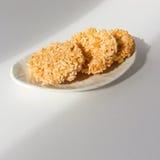 Dessert tailandese chiamato nangled Fotografia Stock Libera da Diritti