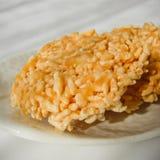 Dessert tailandese chiamato nangled Immagini Stock Libere da Diritti
