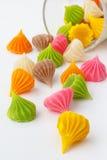 Dessert tailandese del dolce di stile Fotografie Stock Libere da Diritti