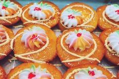 Dessert tailandese dell'inceppamento arancio del dolce fresco della tazza immagine stock libera da diritti