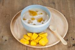 Dessert tailandese di stile fotografia stock
