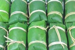 Dessert tailandese grezzo di tradizione Fotografie Stock Libere da Diritti
