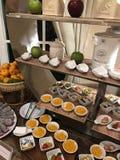 Dessert tailandese nella piccola dimensione fotografia stock