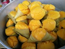 Dessert tailandese tradizionale immagine stock libera da diritti