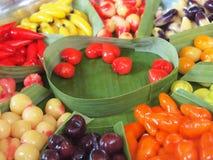 Dessert tailandese tradizionale Fotografia Stock Libera da Diritti