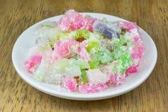 Dessert tailandese variopinto immagine stock libera da diritti