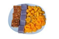 Dessert tailandese in zolla Fotografia Stock Libera da Diritti