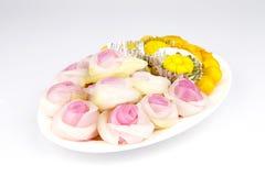 Dessert tailandesi Fotografie Stock