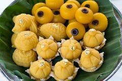 Dessert tailandesi immagine stock libera da diritti