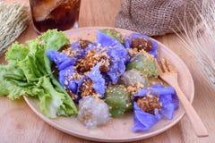 Dessert tailandesi Fotografia Stock