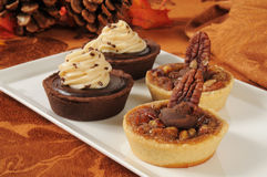 Dessert tarts Stock Photos