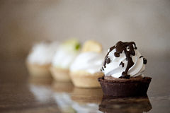 Dessert Tarts Royalty Free Stock Images