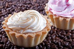 Dessert. Tasty cakes Stock Photos