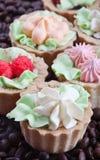 Dessert. Tasty cakes Royalty Free Stock Photography