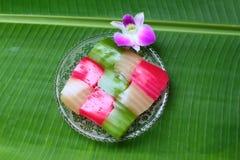 Dessert thaï Image stock
