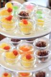 Dessert thaï Photos stock