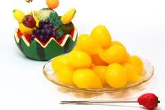 Dessert thaï, lanière Yhod Image stock