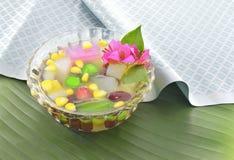 Dessert thaïlandais Photo libre de droits
