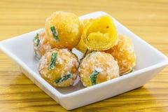 Dessert thaïlandais antique Photographie stock libre de droits