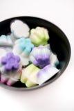 Dessert thaïlandais coloré, gelée thaïlandaise colorée image stock
