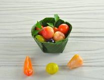 Dessert thaïlandais de fruit photos libres de droits