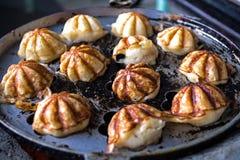 Dessert thaïlandais sur la casserole Image libre de droits