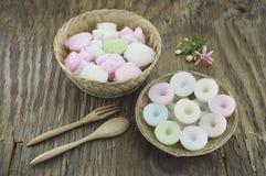 Dessert thaïlandais traditionnel Image stock