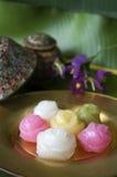 Dessert in Thai style Stock Image