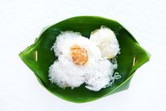 Dessert of Thailand Stock Image