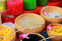 Dessert Thailand. Royalty Free Stock Images