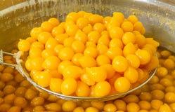 Dessert of Thailand Golden Bal Royalty Free Stock Photo