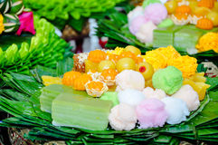 Dessert of Thailand Stock Photography