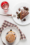 Dessert time Stock Photo