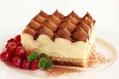 Dessert tiramisu. Stock Images