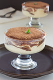 Dessert tiramisu. Royalty Free Stock Photo
