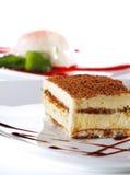 Dessert - Tiramisu Cheesecake Royalty Free Stock Photos