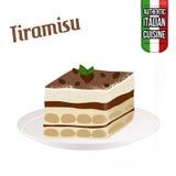 Dessert Tiramisu Stock Photo