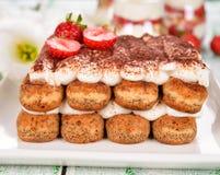 Dessert tiramisu Royalty Free Stock Image